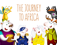 The journey to Africa  | children's book
