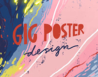Benee - Gig poster design