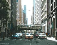 CGI - STREET IN CHICAGO P2