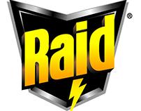 Raid Spider Spray radio spot :60