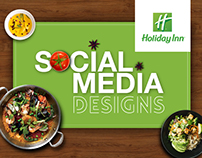 Holiday Inn | Social Media Design | Art Direction