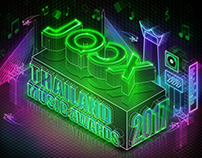 JOOX Thailand Music Award 2017_Key Visual Design