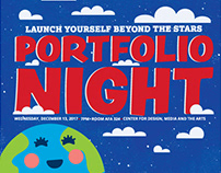 LAUNCH YOURSELF BEYOND THE STARS PORTFOLIO NIGHT '17