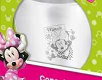 Linha licenciada Disney de Copos de Inox