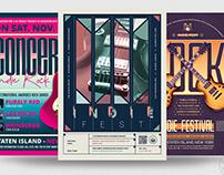 Indie Fest Flyer Bundle