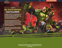 OMD!U: Bloodspike Patch Release Website