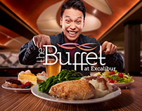 The Buffet at Excalibur On-site Campaign