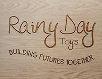 Rainy Day Toys Brand Design