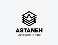 طراحی لوگو گروه طراحان چوب آستانه