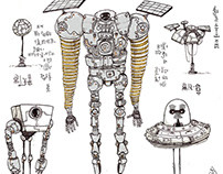 Mechanical Creatures from other dimensions
