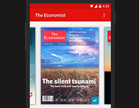 The Economist- Android L Concept