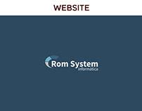 Rom System Informática   Website