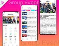 Group Event App Design