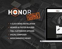 Honor | Shooting Club & Weapon Store Theme