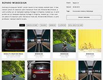 Webdesign monolith creatieve media