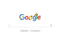 Google Doodle - Woodstock 1969