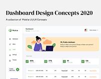 Dashbaord Concepts 2020