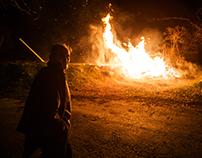 Custom of Fire in Achlada village