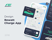 Rewatt (charge stations) - UI/UX