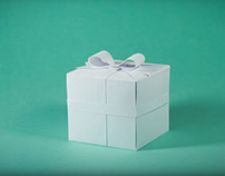 Origami Telekom Christmas Campaign