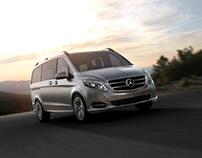 Mercedes Benz V250 - CGI