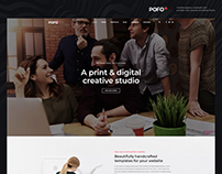 Pofo WordPress Theme - Corporate Website