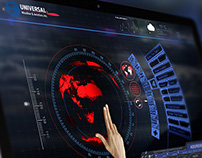 TouchFlight Multitouch UI