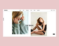 Byanca - Fashion Brand Concept Website