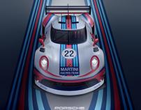 3D Porsche concept 2