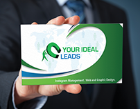 Presentation card: Your Ideal Leads