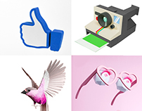 EMMI - Animated Social Media Icon Illustrations