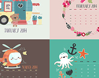 The Wedgienet Monthly Wallpaper Project 2014
