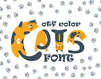 Catsme OTF color font