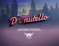 "Name & logotype for Apogee Game ""Donutello"""