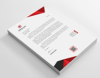 Creative Corporate Letterhead