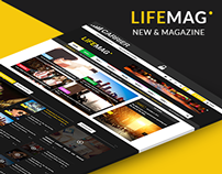 LifeMag - New & Magazine Template