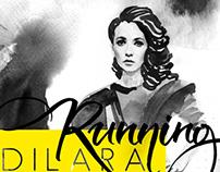 Сover of the new single Running from Dilara Kazimova