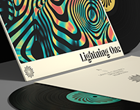 Solar Corona / Lightning One LP