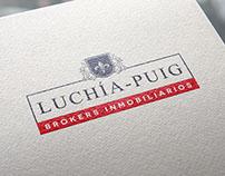 Luchía- Puig Brokers Inmobiliarios Diseño de identidad