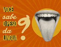 Você sabe o peso da língua?
