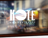 KOTE Beauty House Branding