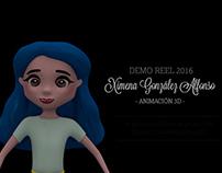 Reel Animacion 3D 2018