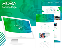 Hoba Agency Creative Landing Page