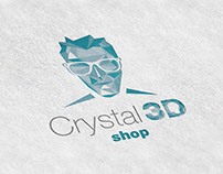 Crystal 3D Shop Identity