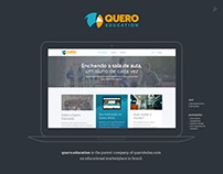 Quero Education - Institutional Website