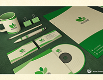 Green and Ecologic corporate identity