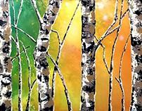 Paisajismo en Arte Impresionista Abstracto