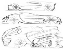 Sketchbook - Bugatti GT