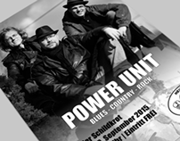 Power Unit | Band Poster