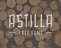 Astillia : Free Handmade Font